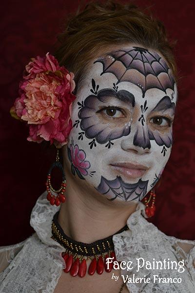 Sugar Skull Face Paintings