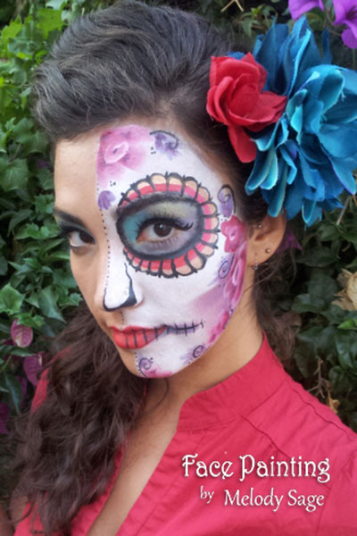 halloween kids face painting san francisco  bay area face painters