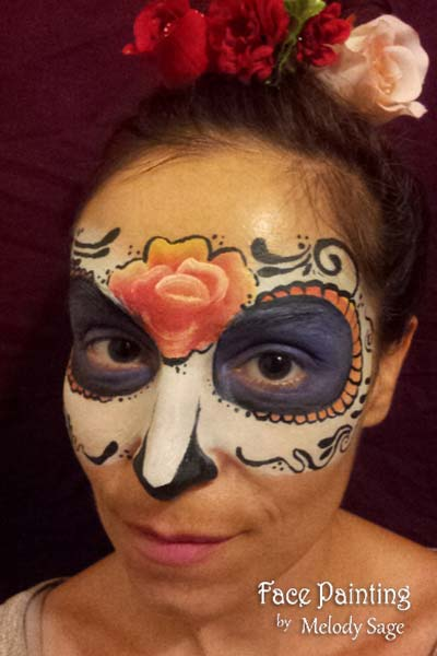 halloween adult face painting san francisco  bay area face painters