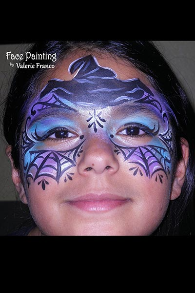 halloween adult body face painting san francisco  bay area face painters