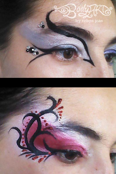 Adult face paint designs, free thia girl
