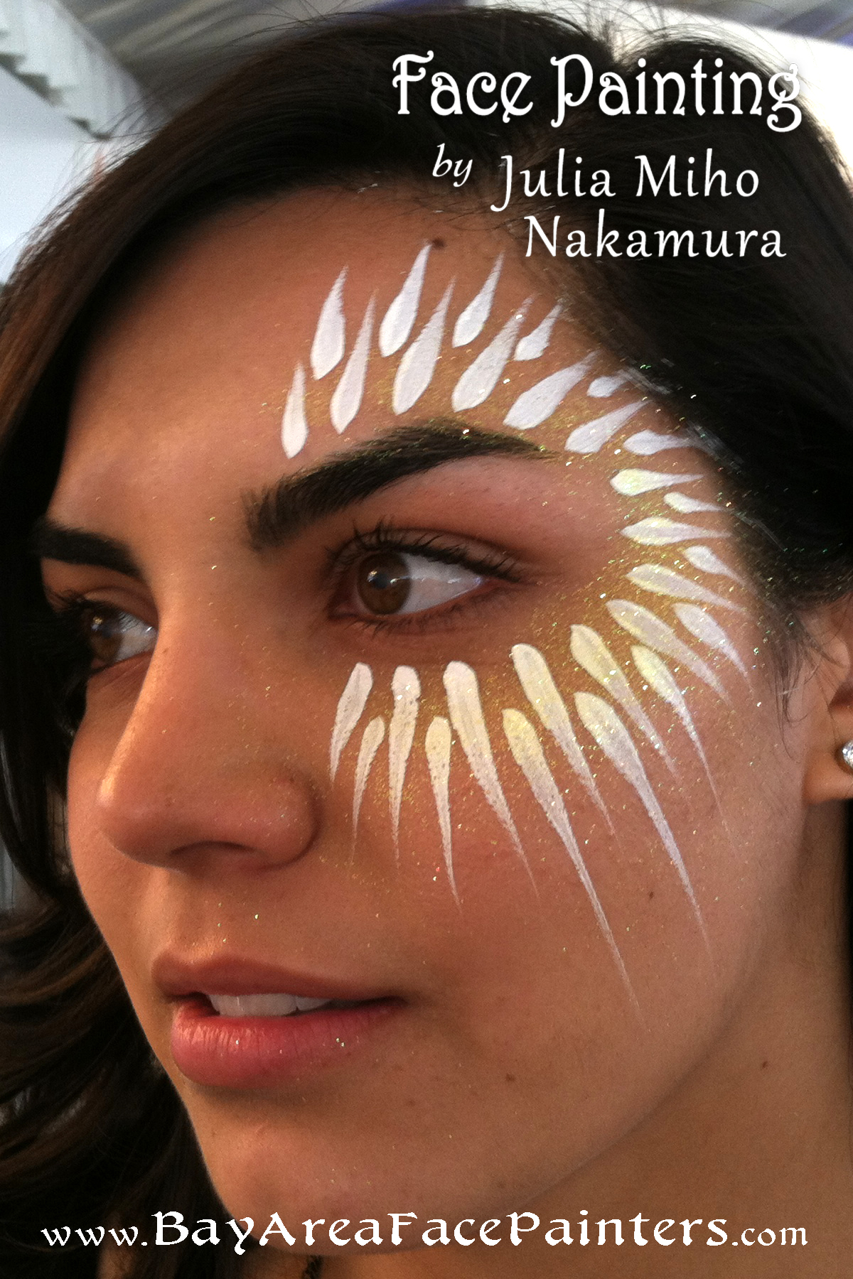 Simple tribal face paint