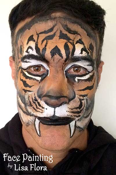 adult face body painting san francisco bay area face painters